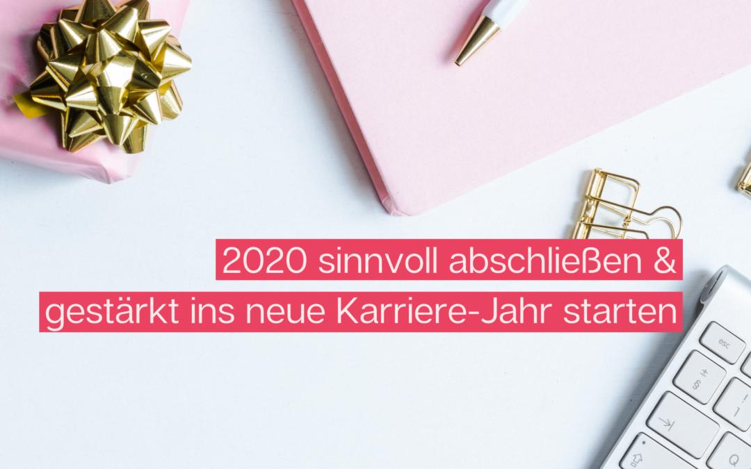 2020 abschließen und in die Zukunft blicken